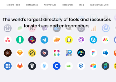 Database for Startup Tools