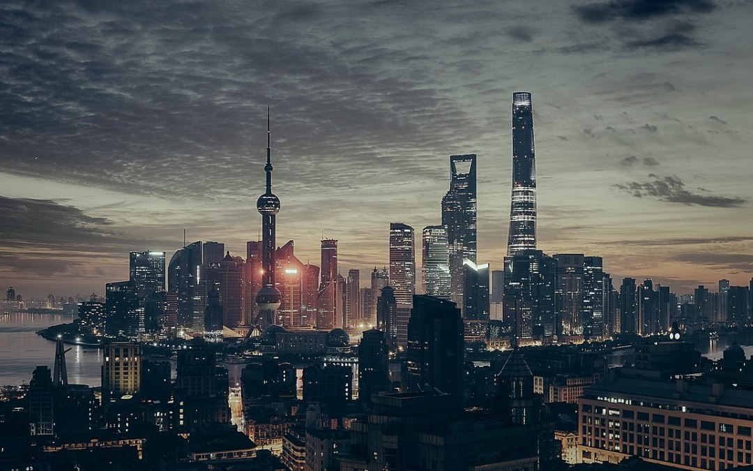 Shanghai on the night